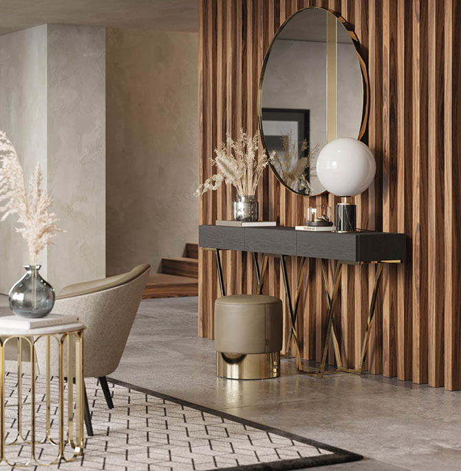 Nowhere-entrance-hall-console-with-drawers-mirror-luxury-pouf-2.jpg